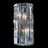 Worldwide W23511C8 Cascade Polished Chrome Wall Sconce Lighting