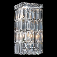Worldwide W23521C6 Cascade Polished Chrome Wall Light Fixture