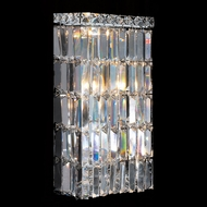 Worldwide W23522C8 Cascade Polished Chrome Lighting Wall Sconce