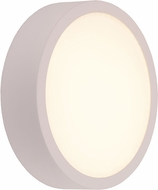 Worldwide W23564MW6 Aperture Contemporary Matte White LED Wall Lighting Sconce
