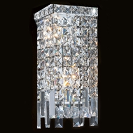 Worldwide W23621C6 Cascade Polished Chrome Wall Lighting Sconce