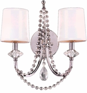 Worldwide W23956C14-CL Gatsby Polished Chrome Sconce Lighting