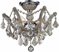 Worldwide W33116C16-GT Mari Theresa Polished Chrome Ceiling Lighting Fixture