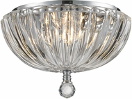 Worldwide W33141C10-CL Mansfield Polished Chrome Flush Lighting