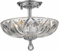 Worldwide W33142C12-CL Mansfield Polished Chrome Overhead Lighting