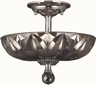 Worldwide W33142C12-SM Mansfield Polished Chrome Ceiling Light Fixture