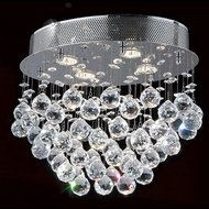 Worldwide W33231C16 Icicle Polished Chrome Halogen Multi Hanging Pendant Lighting