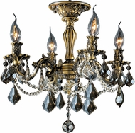 Worldwide W33303BP17-GT Windsor Antique Bronze Ceiling Lighting