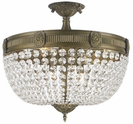 Worldwide W33353B20-CL Winchester Antique Bronze Ceiling Lighting Fixture