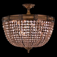 Worldwide W33353B24-GT Winchester Antique Bronze Ceiling Light