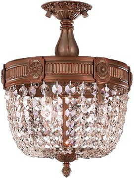Worldwide W33353FG12-CL Winchester French Gold 12 Ceiling Light