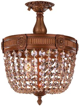 Worldwide W33353FG12-GT Winchester French Gold 12 Ceiling Light Fixture