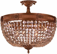 Worldwide W33353FG20-GT Winchester French Gold 20  Flush Lighting