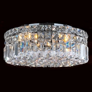 Worldwide W33506C14 Cascade Polished Chrome 14  Home Ceiling Lighting