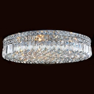 Worldwide W33509C24 Cascade Polished Chrome 24  Ceiling Lighting
