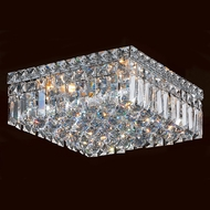 Worldwide W33516C12 Cascade Polished Chrome 12  Ceiling Light