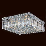 Worldwide W33517C14 Cascade Polished Chrome 14  Ceiling Light Fixture