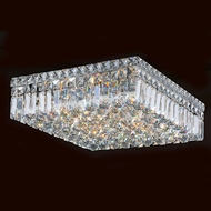 Worldwide W33518C16 Cascade Polished Chrome 16  Ceiling Lighting Fixture
