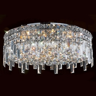 Worldwide W33608C20 Cascade Polished Chrome 20  Home Ceiling Lighting