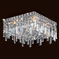 Worldwide W33616C12 Cascade Polished Chrome 12  Overhead Lighting Fixture