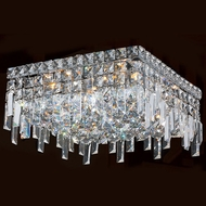 Worldwide W33617C14 Cascade Polished Chrome 14  Ceiling Lighting