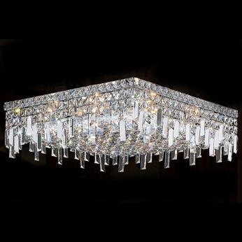 Worldwide W33619C20 Cascade Polished Chrome 20  Ceiling Light Fixture