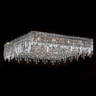 Worldwide W33620C24 Cascade Polished Chrome 24  Ceiling Lighting Fixture