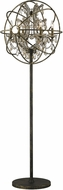 Worldwide W63190AB24-GT Armillary Antique Bronze Floor Lamp