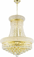 Worldwide W83030G16 Empire Polished Gold Foyer Light Fixture