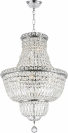 Worldwide W83032C18 Empire Polished Chrome Entryway Light Fixture