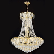 Worldwide W83034G26 Empire Polished Gold Clear 26  Pendant Lamp
