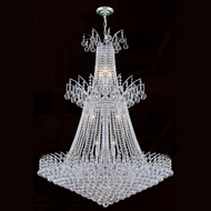 Worldwide W83052C32 Empire Polished Chrome Clear Ceiling Pendant Light