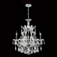 Worldwide W83075C22 Empire Chrome 7 Candle 22 Inch Diameter Hanging Chandelier