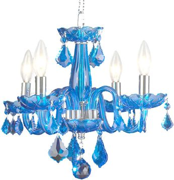 Worldwide W83100C16-SP Clarion Polished Chrome Mini Chandelier Lighting