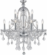 Worldwide W83101C28-CL Provence Polished Chrome Chandelier Lamp