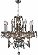Worldwide W83103C20-GT Provence Polished Chrome Mini Ceiling Chandelier