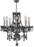 Worldwide W83103C20-SM Provence Polished Chrome Mini Hanging Chandelier
