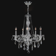 Worldwide W83104C21-CL Provence Polished Chrome Finish 21 Wide Lighting Chandelier
