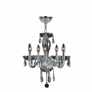 Worldwide W83127C16-CL Gatsby Traditional Polished Chrome Finish 18  Tall Mini Lighting Chandelier