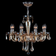 Worldwide W83129C22-AM Gatsby Polished Chrome 22  Mini Chandelier Light