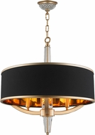 Worldwide W83139MG21 Gatsby Matte Gold 21  Drum Pendant Lamp