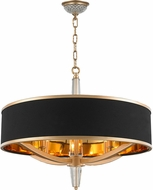 Worldwide W83140MG26 Gatsby Matte Gold 26  Drum Hanging Light