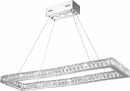 Worldwide W83145KC42 Galaxy Polished Chrome LED Island Light Fixture