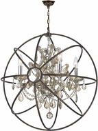 Worldwide W83190C24-GT Armillary Dark Bronze 24  Drop Ceiling Lighting