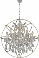 Worldwide W83191MN33-CL Armillary Matte Nickel 33  Pendant Lighting