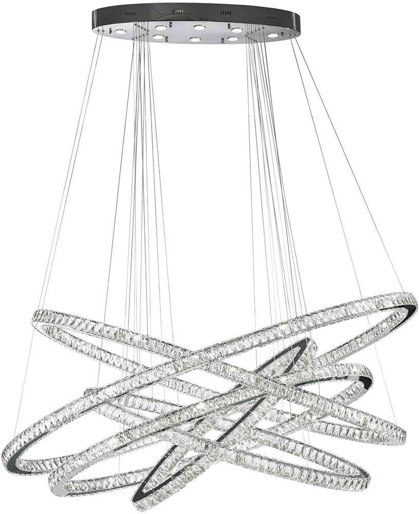 Worldwide w83193kc72 galaxy polished chrome clear led 72 hanging worldwide w83193kc72 galaxy polished chrome clear led 72nbsp hanging chandelier loading zoom aloadofball Images