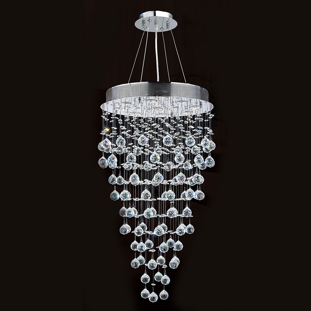 Icicle Polished Chrome Clear Halogen