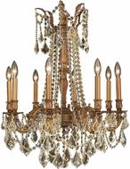 Worldwide W83306FG24-GT Windsor French Gold Hanging Chandelier