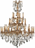 Worldwide W83312FG54-CL Windsor French Gold Hanging Chandelier