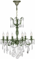 Worldwide W83328B23 Versailles Antique Bronze Mini Chandelier Lighting